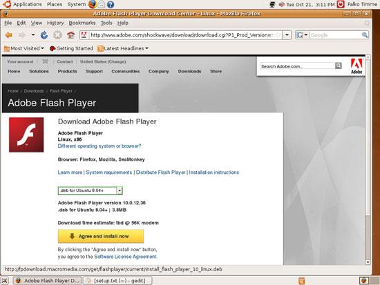 Leerzeichen warten auf Download Adobe