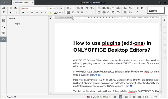 ONLYOFFICE Plugins