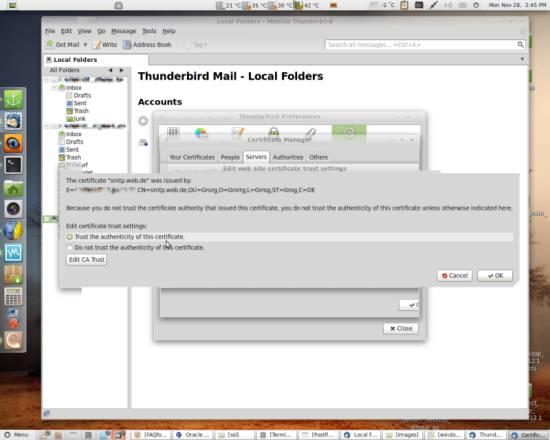 Mails mit SSL Zertifikaten verschlüsseln (S/MIME)
